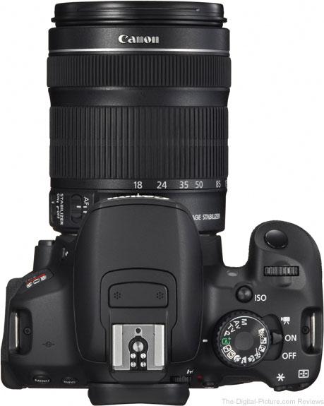 Canon EF-S 18-135mm IS STM trên body Canon 650D