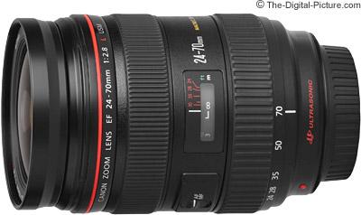 Ống kính Canon EF 24-70mm F/2.8L