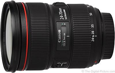Ống kính Canon EF 24-70mm F/2.8L II