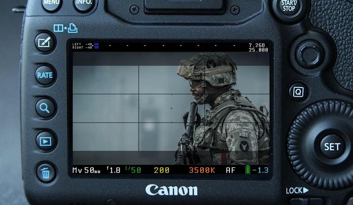 Đường lưới (grid line) trên máy ảnh