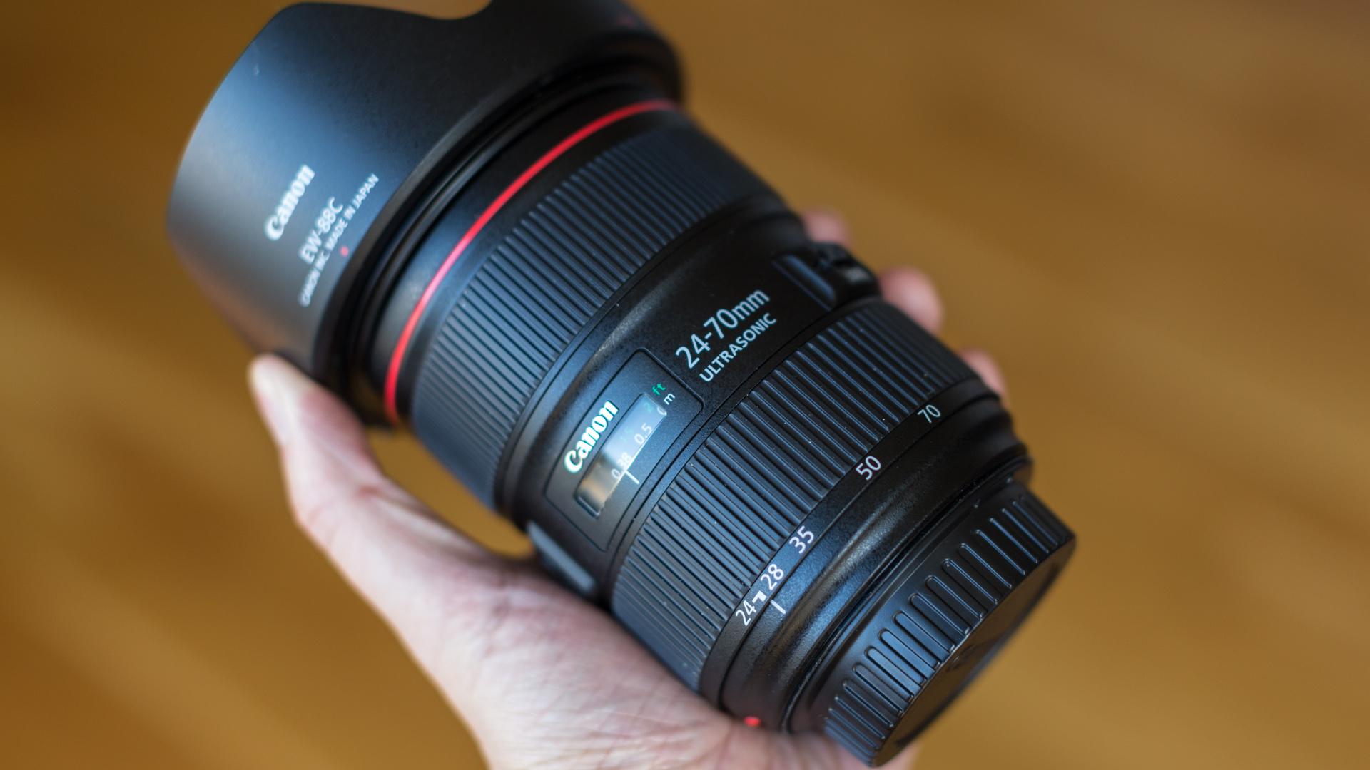 Ống kính Canon 24-70mm F/2.8L II USM